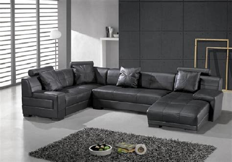 black contemporary couch st petersburg modern black sectional sofa set