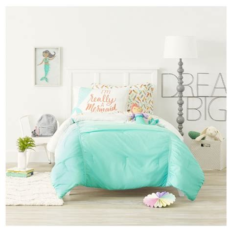 mermaid bedding twin mermaids sheet set pillowfort target