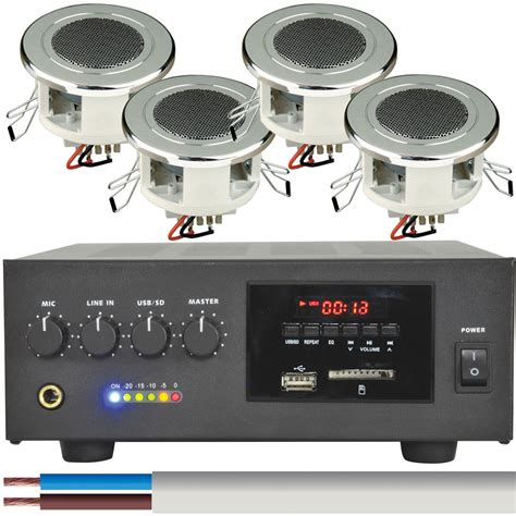 waterproof sound system for bathroom 100v pa amp amplifiers 100v mixer amplifiers