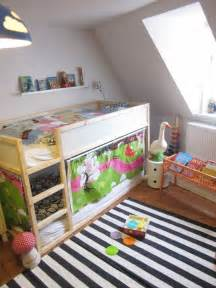 Ikea Low Bunk Bed Kura For Two Using Ikea S Low Loft As A Bunk Bed Apartment Therapy