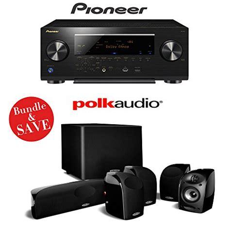 pioneer sc   channel networked av receiver  polk