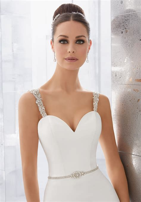 milena wedding dress style  morilee