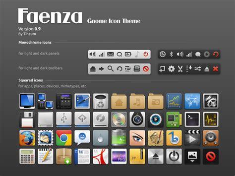 gnome themes icons download new faenza gnome icon theme