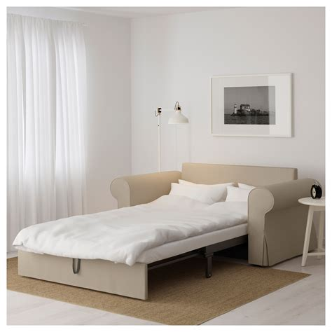 Ikea Two Seater Sofa Bed Backabro Two Seat Sofa Bed Hylte Beige Ikea