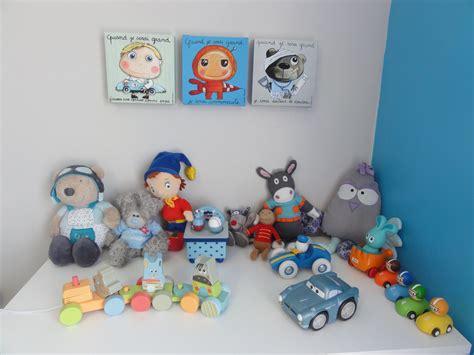 chambre bébé garçon bleu et gris peinture bleu chambre fille
