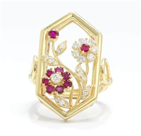 19 58 Ct Ruby a ruby and ring 05 23 14 sold 805