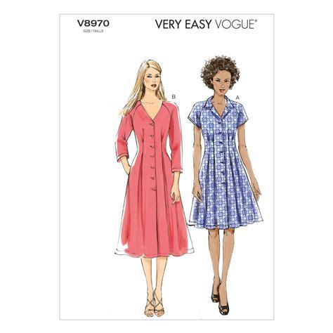 dress pattern joann fabrics misses dress 8 10 12 14 16 jo ann