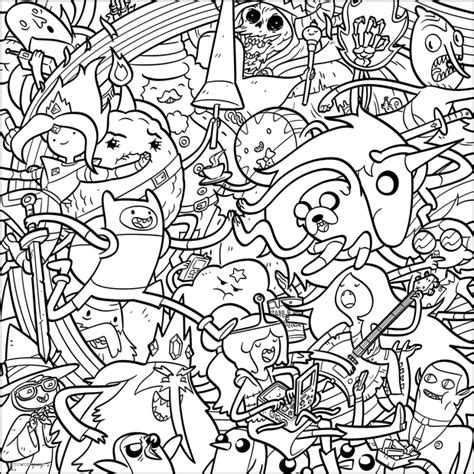 adventure time coloring book network goes big for san diego comic con