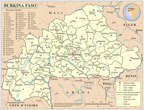 burkina faso world map maps of burkina faso map library maps of the world