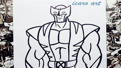 wolverine imagenes para dibujar como dibujar a wolverine how to draw wolverine youtube
