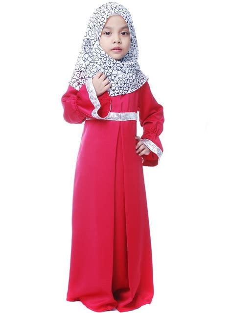 Baju Busana Muslim Anak Perempuan 15 Contoh Model Baju Muslim Anak Perempuan 2017 Terbaik