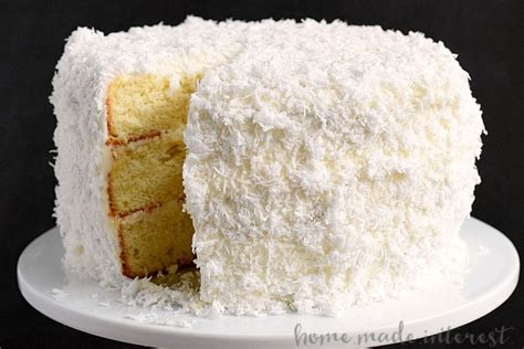 homemade coconut cake recipe coconut cake recipe dishmaps