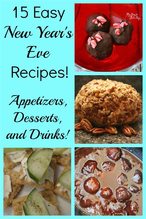 new years recipes 15 easy new year s recipes with appetizers desserts