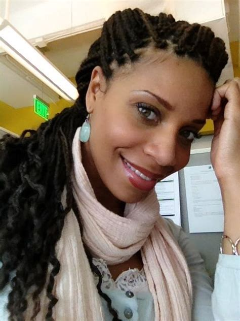 how to make box braids look wavy curly box braids inspiration pinterest