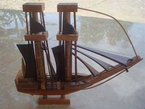 membuat kerajinan perahu gambar kerajinan kayu perahu layar