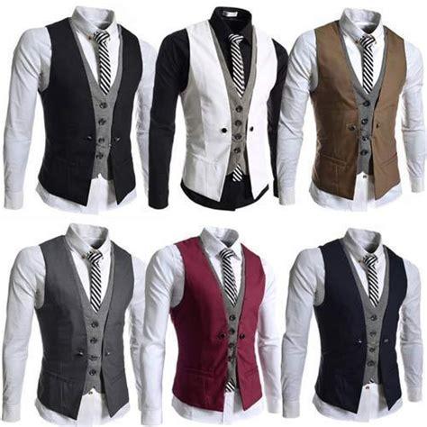 New Basket List Biru Low new mens formal wedding waistcoat casual chest