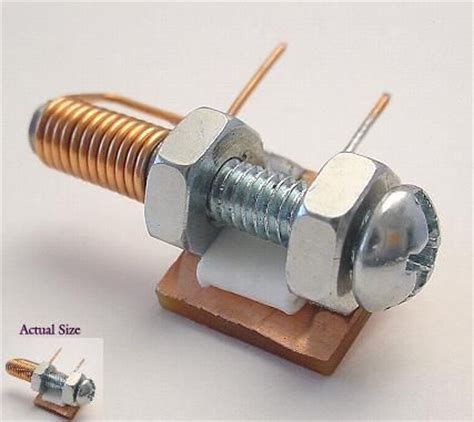 electronically variable capacitor the world s catalog of ideas