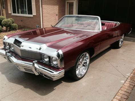 1973 chevy caprice convertible new paint new interior