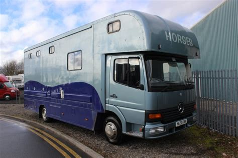 horseboxes for sale luxury mercedes 7 5t horsebox for sale central england