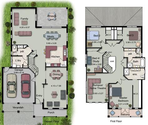 6 bedroom double storey house plans 25 best ideas about double storey house plans on