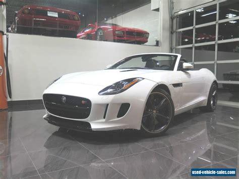 jaguar f for sale 2014 jaguar f type for sale in the united states