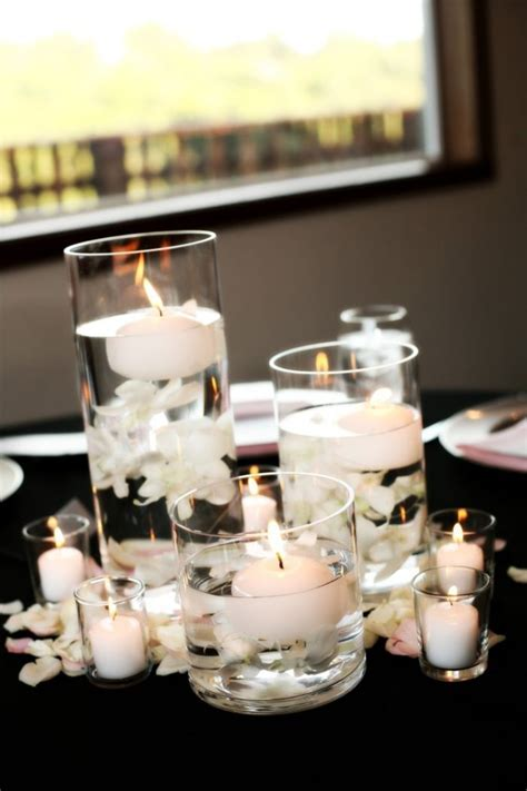 Best 25  White centerpiece ideas on Pinterest   White