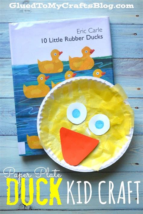 Paper Duck Craft - 25 best ideas about duck crafts on chicken