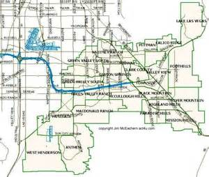 map of henderson henderson nevada master planned communities
