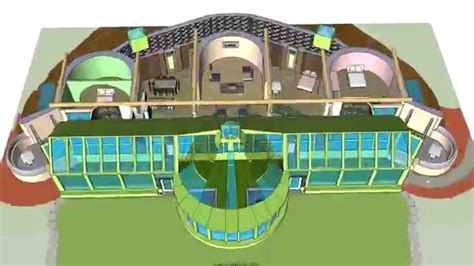 Floor Plan Sketchup Earthship Phoenix Youtube