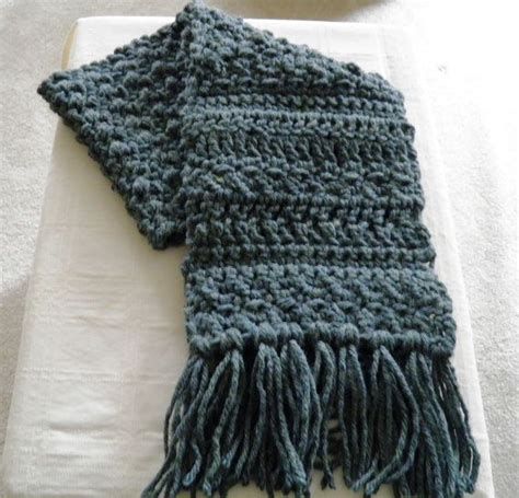 1000 ideas about crochet mens scarf on