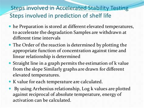 Shelf Accelerated Stability Testing seminor on accelerated stability testing of dosage forms sahil