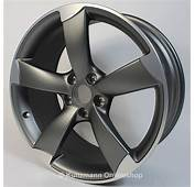 Audi Rotor Rims Set 85x19 Anthrazit  A4