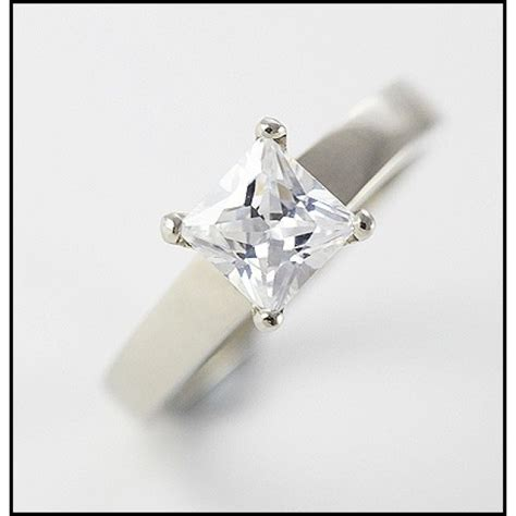 seagull gifts 9ct white gold jewelry cubic zirconia