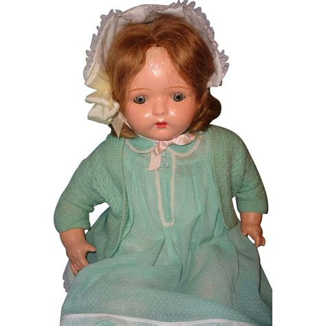 composition phonograph doll 26 quot dolly reckord talking phonograph composition doll from