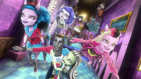 film goblin cda monster high freaky fusion blu ray review high def digest