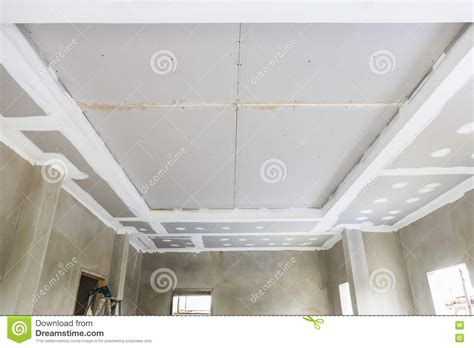 ceiling gypsum board stock photo image 72650201