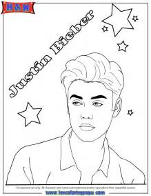 justin bieber coloring sheets to print coloring pages