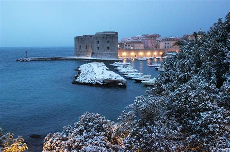 dubrovnik snow dubrovnik weather dubrovnik snow temperature in dubrovnik
