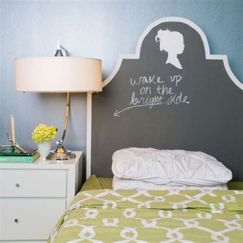 diy chalkboard headboard chalkboard paint projects feng shui interior design