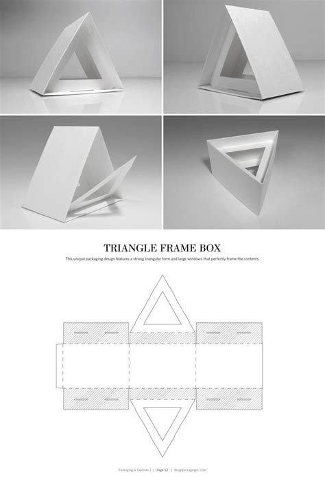 triangle packaging template 78 best packaging dielines images on