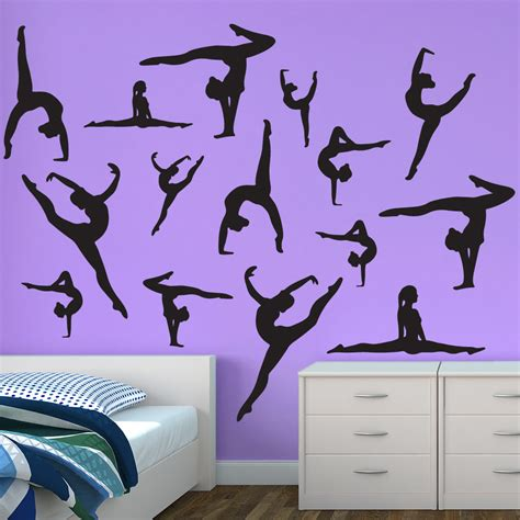 dancer wall stickers wall stickers dancer silhouette wall decals