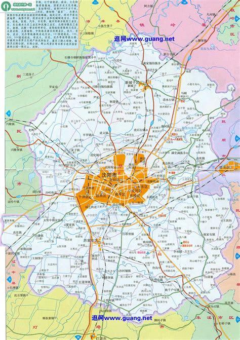 沈阳地图下载,高清电子地图下载 - 中国地图网