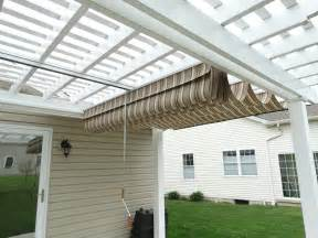 Pergola Canopy Pergola Canopies Shadefx And Ez Shade Canopy