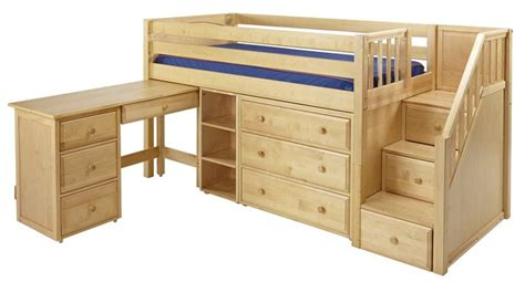 Low Bunk Beds With Storage Low Loft Bed With Stairs Steps Maxtrixonline Boys Bedroom Pinterest Search