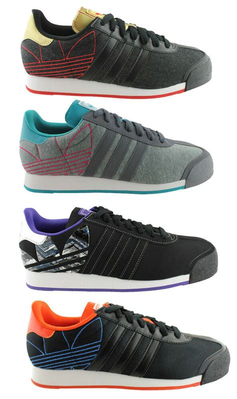 adidas originals samoa mens lace up casual shoes sneakers retro fashion ebay