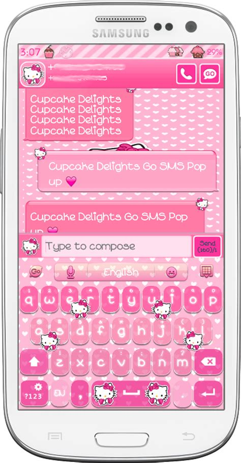 new themes for go sms hello kitty go sms theme download theme hello kitty go