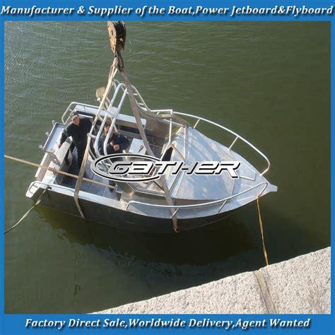 small fishing boat aluminum raccogliere in alluminio barca alluminio barca da pesca