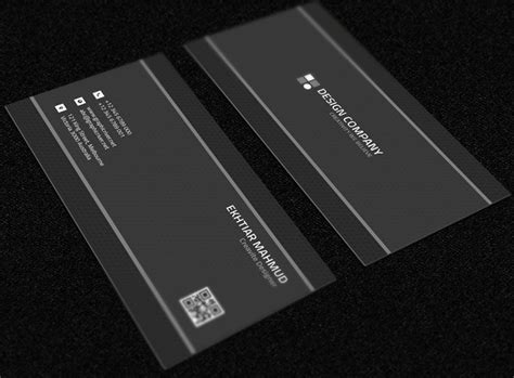 Great Bussiness Card Black And Silver Template by Free Grey Business Card Mockup Psd Titanui