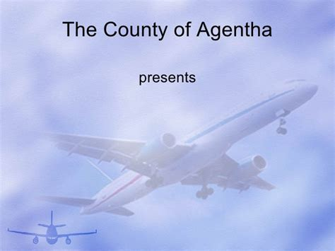 aircraft powerpoint presentation template
