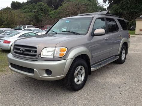 Toyota Sequoia For Sale Florida 2001 Toyota Sequoia For Sale In Florida Carsforsale